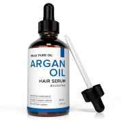 Argan Oil Hair Treatment Serum For Coloured, Dry & Damaged Hair Infused with Organic Argan - 100ml