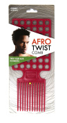 Afro Twist Comb Magenta twist your hair in minutes