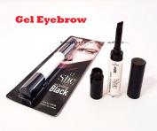 SHE- Gel Eyebrow #BLACK EB02BK Natural Look