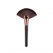 TOPBeauty Slim Fan Makeup Brush Blending Highlighter Face Contour Powder Brush