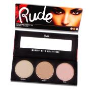 RUDE Cosmetics Highlighting Shimmer Trio