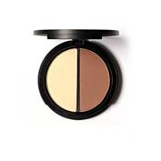 Mallofusa Portable Shimmer Highlighter Contour Makeup Palette 10ml Two-coloured #1