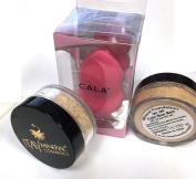 Bundle 3 Items:Itay Mineral 2x Foundation MF3M Cafe Bon Bon (Fair Skin ) + Cala Blending Sponge