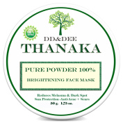 "DD & DEE Naturals Pure 100% Thanaka Powder For Face Brightening Face Mask, Reduces Melasma & Dark Spot Treatment Help Anti-Acne, Ageing, Acne Scars Removal Grade ""A"" Quality 50 G."