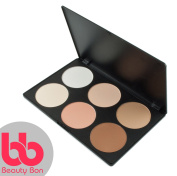 Contour kit, 6 Colours Professional Face Sculpting, Camouflage and Concealing Powder Makeup Blush Palette, By Beauty Bon