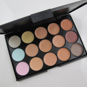 360deal Have one to sell. Sell it yourself Details about New 15 Colour Professional Makeup Camouflage Concealer Palette by 360deal