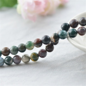 Natural India Agate Beads 6mm-14mm Smooth Polished Round 15 Inch Strand AG31