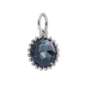 FJCharm Fits Pandora Charms Bracelet Midnight Star Blue Crystal Pendant Charm