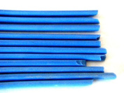 Devardi Glass COE 41kg Spaghetti Stringers, 3mm, Opaque Medium Blue, 120mls Fusing, Beadmaking Rods