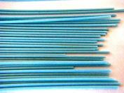 Devardi Glass COE 41kg Spaghetti Stringers, 2mm, Opaque Light Blue, 120mls Fusing, Beadmaking Rods