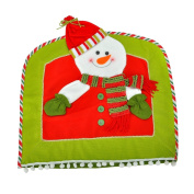 Xmas Gift Christmas Chair Cover Snowman With Red Hat Christmas Decorations,Red