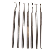 7pcs Stainless Steel Wax clay Pottery Soap Carve Modelling Carving Sculpting Tools