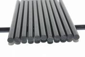 50pcs Black Hot Melt Glue Sticks, 11mm x 190mm