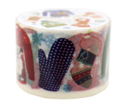 Washi Masking Deco Tape Wide Aimez Le Style Christmas Wardrobe Collection Wide