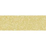 Masking tape light golden with fine glitter