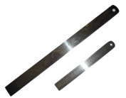 Pack of 6 Stainless Steel Ruler - 15cm and 30cm , 3 pieces each