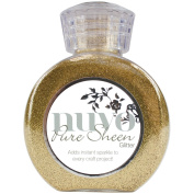 Nuvo by Tonic Studios NUV707N Glitter Pure Sheen, Light Gold