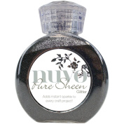 Nuvo by Tonic Studios NUV706N Glitter Pure Sheen, Charcoal