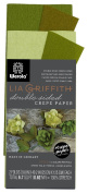 Lia Griffith Double Sided Crepe Paper Folds Roll, 0.6sqm, Green Tea and Cypress, Ferns and Moss