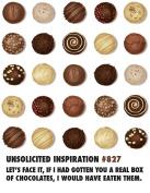 Quiplip UI606PCK Chocolate Friendship/ Thank You / Birthday Card,