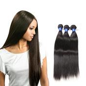 HC Diva 7A Peruvian Virgin Hair Silky Straight Hair Extensions Remy Hair Bundles Unprocessed Virgin Hair Human Hair Bundles Deals 3 Pcs Lot