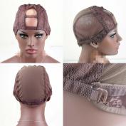 "U part Weave Cap With Adjustable Straps Medium Size1"" X 8.9cm U-Part"