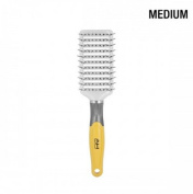Absolute Hot Medium Ventilated Paddle Brush, Boar bristles, ionic nylon bristles, nylon bristles, ionic bristles, ceramic coated, vented barrel, comfortable handle, hair brush, hair comb, long hair, detangler, detanges, won't pull your hair, tourmaline ..