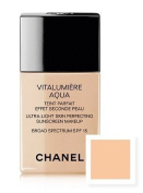 CHANEL VITALUMIÈRE AQUA Ultra-Light Skin Perfecting Makeup SPF 15 - 10 Shades