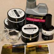 Vip Beauty Shop Professionals Liquid Basic Starter Kit Acrylic-pulver Acrylic Powder Brush for 3d Nail Art Full Set
