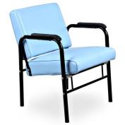 """""""Crown"""" Light Blue Auto Recline Salon Shampoo Chair"""