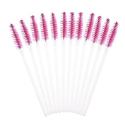 Makeup Brush,Neartime 50pcs Disposble Eyelash Brush Mascara Wands Make Up Cosmetic Tool