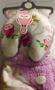 Two Piece Baby Owl Blanket with Pillow