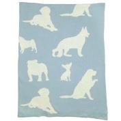 Animal Dog Baby Blanket Colour