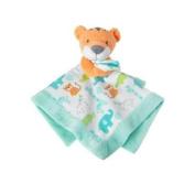 Gymboree Tiger Security Blanket, 100% cotton, 36cm x 36cm