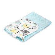 MayLily Premium | Regular Baby Blanket | Bamboo/Minky | 95x75cm | Made in EU | available in many colours