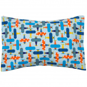 Organic Toddler Pillowcase 13x18. Envelope Style. 100% Cotton. Hypoallergenic
