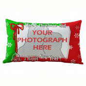 Christmas Decor,Siniao Christmas Rectangle Cotton Linter Pillow Cases Cushion Covers