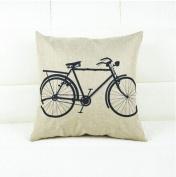 Puraid(TM) Vintage Linen Blend Pillow Case Cover New 2016 Brand Sofa Throw For Home Decor Cartoon Pillowcase