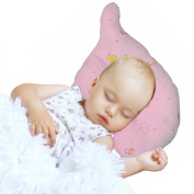 Nursing & Decorative Baby Pillow for Newborns and Infants Elephant Shape Pink