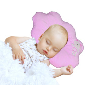 Nursing & Decorative Baby Pillow for Newborns and Infants Cloud Shape Pink