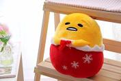 Gudetama Lazy Egg Plush Toy Pillow Funny Stuffed Soft Doll Egg Cosplay Christmas Tree