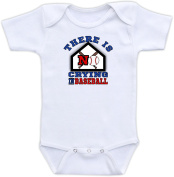 There is No Crying in Baseball - Baseball Baby Clothes Sports Baby Boy Bodysuit