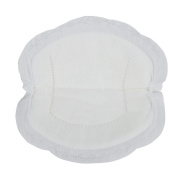 100PCS Women Disposable Breathable Nursing Pads Breastfeeding Pads Spill-proof Pads White
