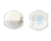 50PCS Women Disposable Breathable Nursing Pads Breastfeeding Pads Spill-proof Pads White