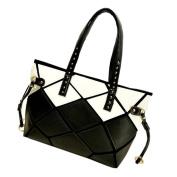 May Lucky Womens Handbag Shoulder Bag Splicing Packet