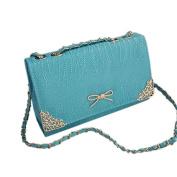 May Lucky Women Shoulder Bag Handbag Packet Crossbody Bags Chain Pack