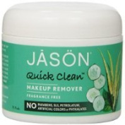 JASON Quick Clean Makeup Remover Pads, 75 Pads in Tub