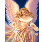 5D Diamond Painting Charminer Angel Girl DIY Embroidery Cross Stitch Craft Painting Living Room Decoration