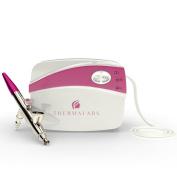 Airbrush Makeup Spray Gun Pink Compresor Set for Airbrushing