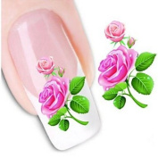 QINF Water Transfer Printing Nail Stickers XF1351